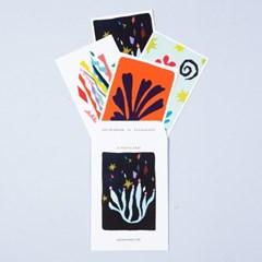 아트 포스트 카드 세트 시저스_(1580875)