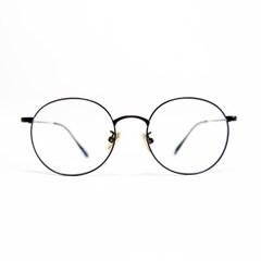 [라플로리다] 티타늄 캐릭 블랙 안경