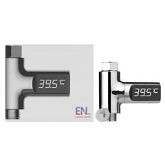 LED워터센서 자가발전 LED 샤워온도계 (수온계/아기온도_(950757)