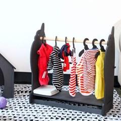 런메이크 강아지옷걸이 옷장 - 부속품 옷걸이