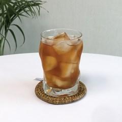 빈티지 카페 유리컵 아이스 커피잔