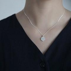 라인이니셜 N (silver925)