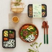 [원더그린] 밥심도시락 - 건강식단관리 혼밥세트 6팩/12팩
