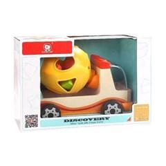 탑브라이트 원목 블럭트럭 놀이세트 장난감