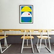 유니크 인테리어 디자인 포스터 M 컴포지션3