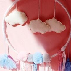 소녀감성 구름 드림캐쳐