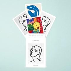 아트 포스트 카드 세트 마티스_(1620742)