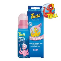 TINTI 틴티 유아 입욕 완구 Bath Foam Pink_(1508936)
