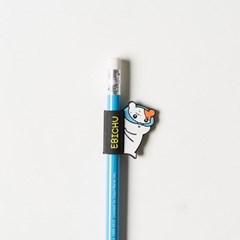 에비츄 홀더 연필_훔쳐보츄 블루