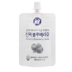 김재식 100% 진짜블루베리즙 21팩 1박스