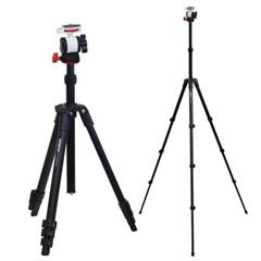 VT-343TF 키가 큰 프리미엄 카메라 스마트폰 삼각대 SET (max 165cm)