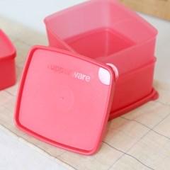 타파웨어 주니어 냉장기 500ml 3P 밀폐용기 반찬통