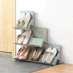 아이디어 상품 슬리퍼 정리 파스텔 신발장