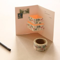 Masking tape 25mm - 04 Flamingo