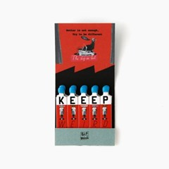 Keep Weird 종이성냥 (Keep Weird Matchbook)