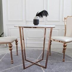로리앙 천연 대리석 원형 테이블