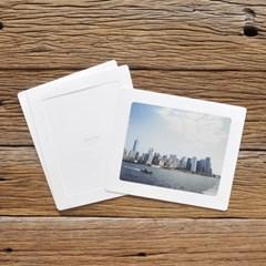 8x10 포토프레임 스토리지 박스세트  - 화이트 10매