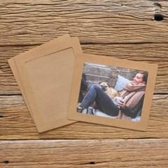 8x10 포토프레임 스토리지 박스세트  - 크라프트 10매