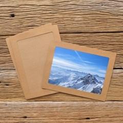 A4 포토프레임 스토리지 박스세트  - 크라프트 10매