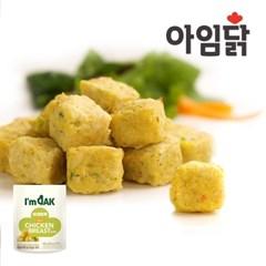 [아임닭] 한입 간편 닭가슴살 미니큐브 60g 4종 2팩