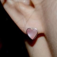 heart shell.pink