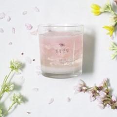 벚꽃엔딩 젤캔들만들기 DIY 키트