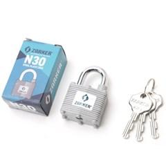 자커 철판 자물쇠 N30A