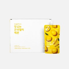 [3+1]슈가로로 맛있는 곤약젤리 레몬 10개입 (7kcal)