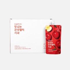 [3+1]슈가로로 맛있는 곤약젤리 사과 10개입 (5kcal)