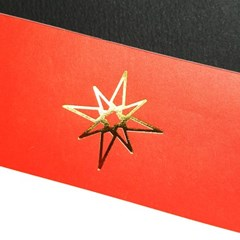 [에코드소울] Heavy Memopad - RED (Gold, Limited)