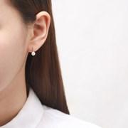 심플 진주 귀걸이