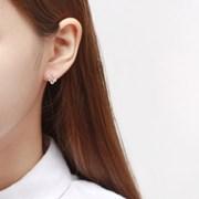 옐로우 클로버 귀걸이