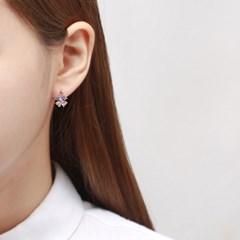 컬러 클로버 귀걸이