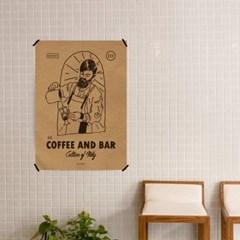유니크 크라프트 인테리어 디자인 포스터 M 커피 앤 바3 카페