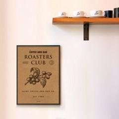 유니크 크라프트 인테리어 디자인 포스터 M 커피 앤 바2 카페