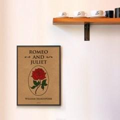 유니크 크라프트 인테리어 디자인 포스터 M 로미오와 줄리엣