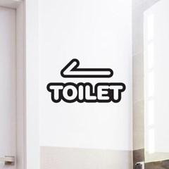 포인트 데코 스티커 화장실요기요