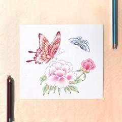 [텐텐클래스] (대치) 쉽게 색연필로 그리는 원데이 민화