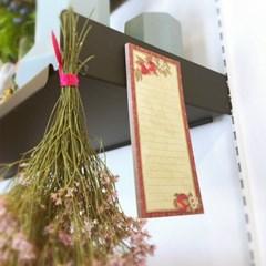 메모마그넷패드 - Beautiful blooms