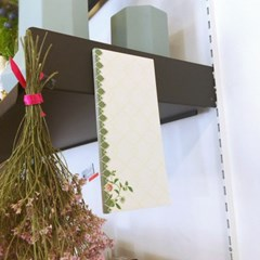 메모마그넷패드 - Graycliff floral