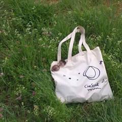 Crescent Moon Cotton Bag