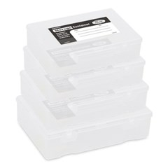 Penco Storage Container_Clear (4 ps -1 set)