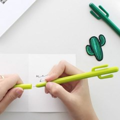 키위그린 선인장 중성펜