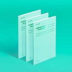 [모트모트] 텐미닛 플래너 31DAYS 컬러칩 - 그리너리 1EA
