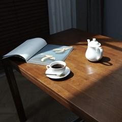 디센 POLIO 폴리오 원목 6인용 벤치형 식탁 세트_(10804314)