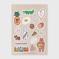 [어프어프] [스티커] Sticker pack-01