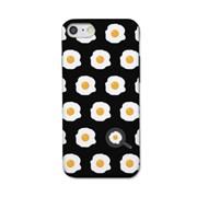 [봉봉] 계란후라이 패턴 블랙 S3152N 슬라이더 케이스_(2144265)