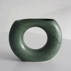 도넛화기(Doughnut Vase)-Green