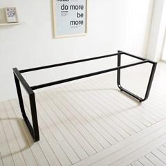 1200X800 프레임 철제 테이블 철재 스틸 식탁 DIY_(1860589)