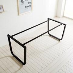 철재 1500X800 프레임 철제 식탁 DIY 스틸 테이블_(1860588)